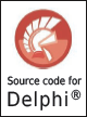 Sourcecode available for Delphi
